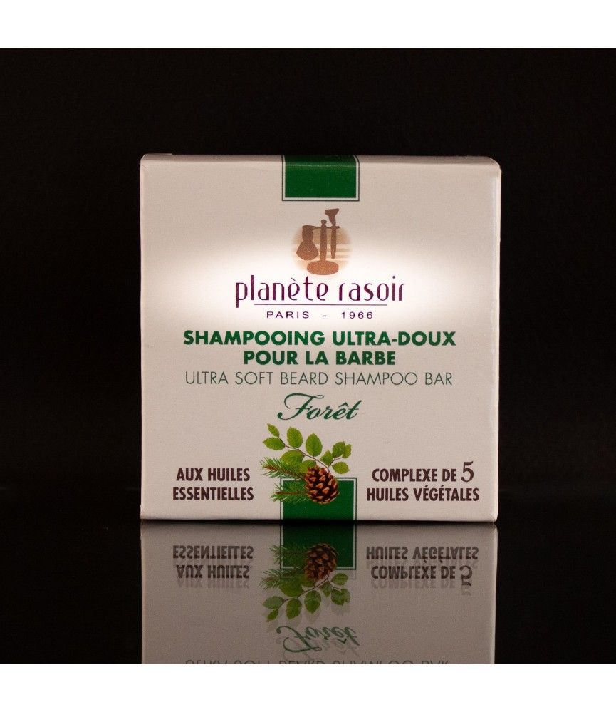 Shampoing solide pour barbe