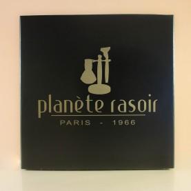 Coffret Planète Rasoir (3 pièces : Huile/Brosse/Ciseaux)