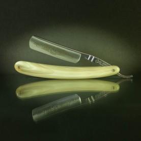 Rasoir Coupe-chou Le Grelot, 5/8eme chasse corne blonde